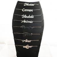 Colier Nume Personalizat Argint